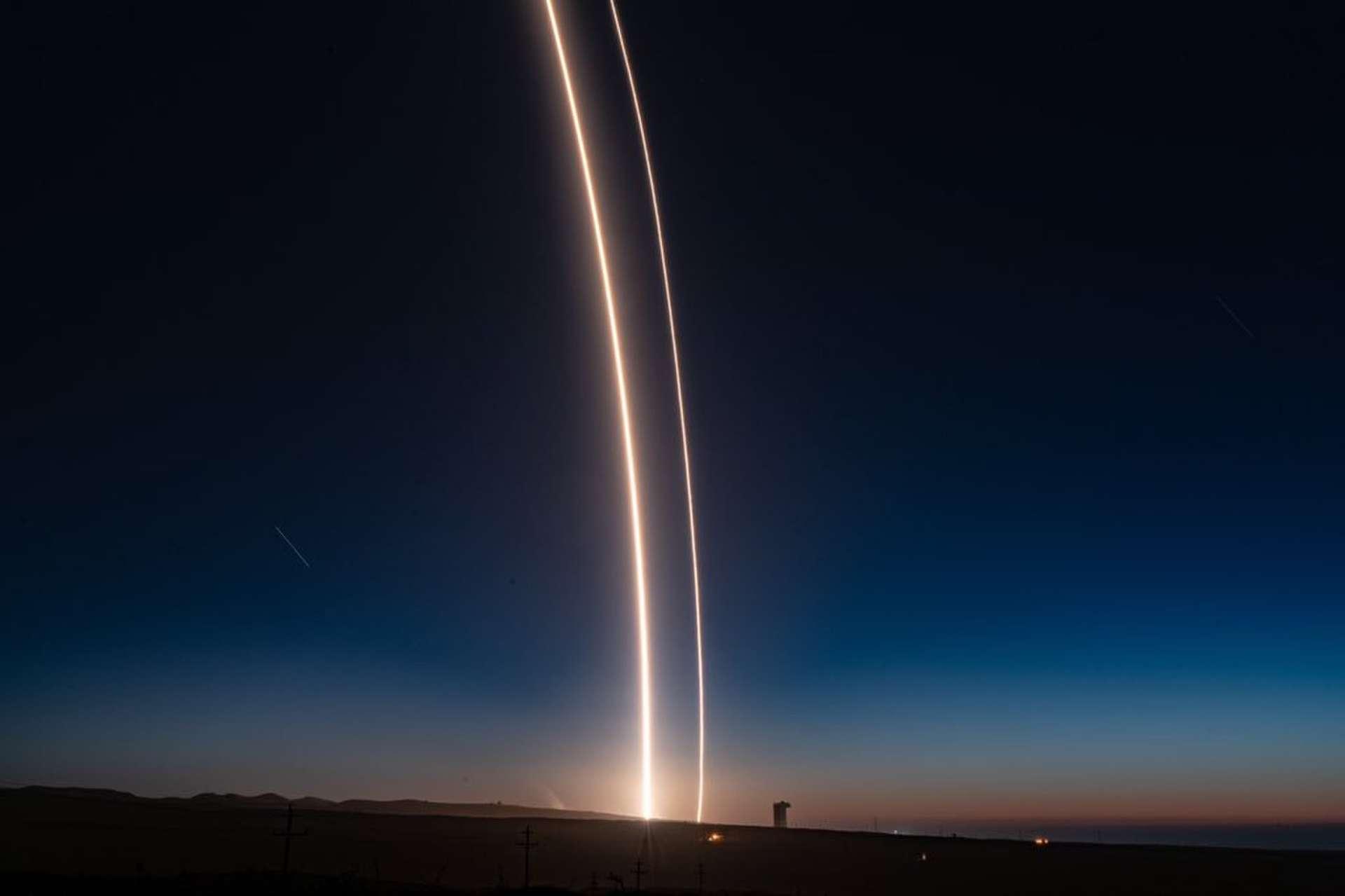 Lancement et atterrissage réussis pour SpaceX, ce dimanche 7 octobre. © Elon Musk, SpaceX