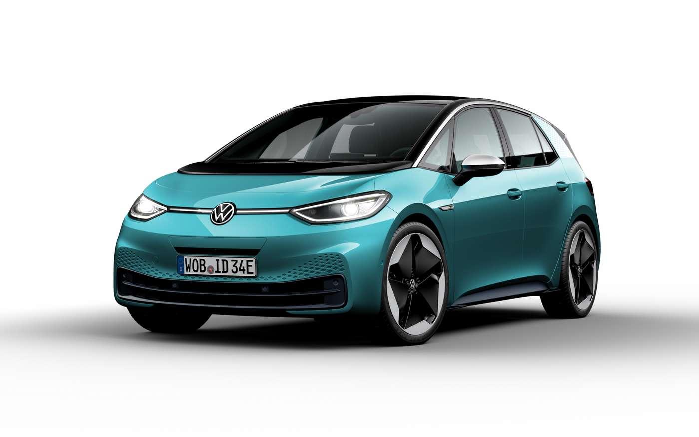 L'ID.3 de Volkswagen. Les premières livraisons sont pour le moment prévues à partir de cet été. © Volkswagen