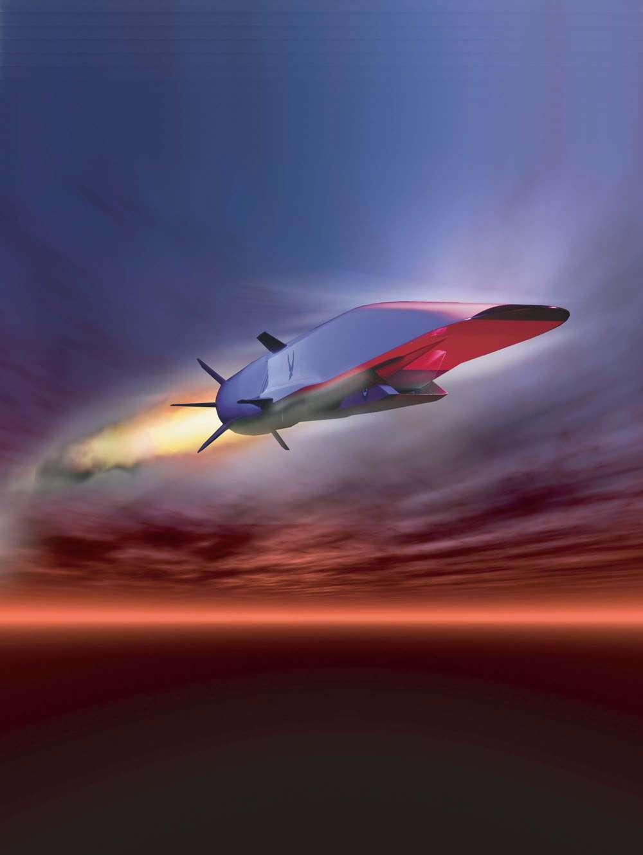 Le X-51 Waverider a réussi son vol d'essai et battu le record du plus long vol hypersonique, alors détenu par l'X-43A. Crédit Boeing