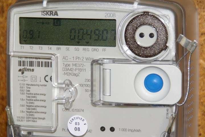 Un compteur intelligent qui suit, en détails et en temps réel, la consommation électrique de chaque pièce. © Ian Britton / FreeFotouk CC by-nc-nd 3.0