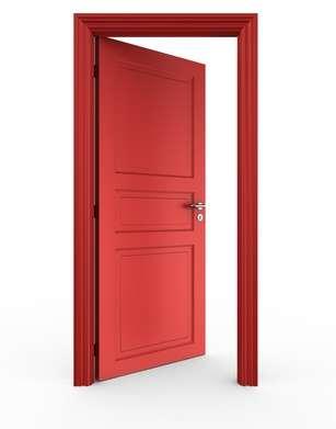 Encadrement de porte. © zentilia