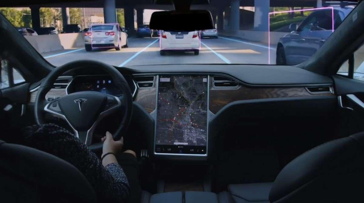 Pour le moment, seul le Tesla Model Y est présenté comme capable d'utiliser la conduite entièrement automatisée. © Tesla