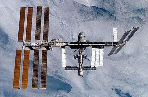 La Station Spatiale Internationale dans sa configuration actuelle. Crédit Nasa