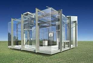 Une maison tout en verre ?