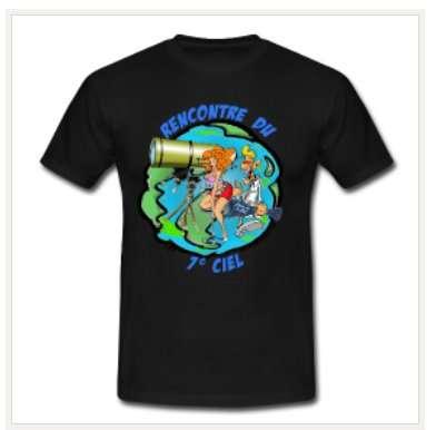 Passez de la Terre au 7e ciel avec les T-shirts Futura-Sciences. © Futura-Sciences