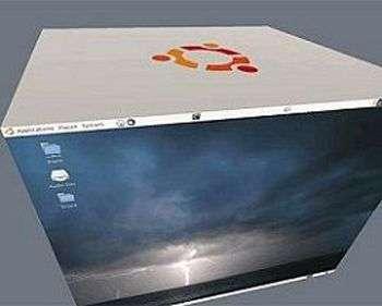 Le cube Ubuntu. Crédit Canonical.