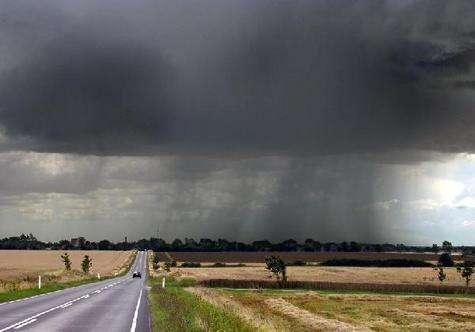 un week-end humide peut suffire à provoquer un tremblement de terre...