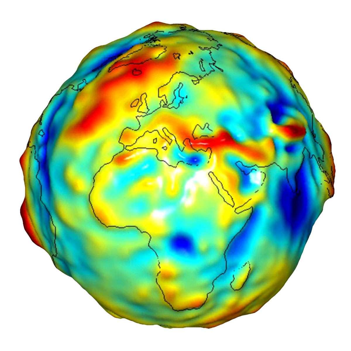 La mission Gravity Recovery And Climate Experiment (Grace) est une mission spatiale qui repose sur deux satellites. Lancée en 2002, la mission vise à mesurer la gravité terrestre de façon à déterminer la répartition de la masse de la Terre. Depuis 2003, les hydrologues utilisent les données de Grace pour estimer le bilan de stockage d'eau douce dans le bassin Tigre-Euphrate. © University of Texas Center for Space Research, Nasa
