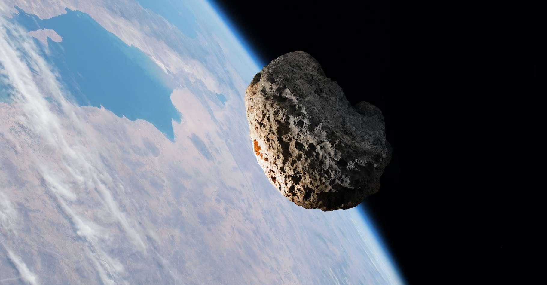 Le Catalina Sky Survey a découvert une nouvelle mini-lune de moins de 4 mètres de diamètre. © tangoas, Adobe Stock
