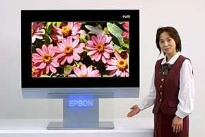 Le prototype OLED d'Epson