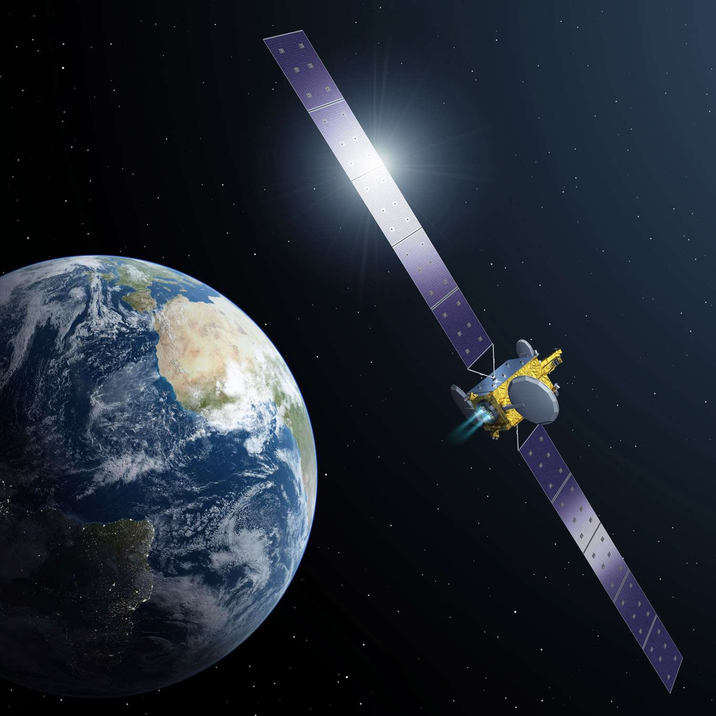 Confirmé en novembre 2012 lors de la réunion ministérielle de l'Esa, le programme Artes 33 vise à mettre au point un satellite de télécommunications 100 % électrique. L'originalité de ce programme est qu'il se fera en partenariat avec l'opérateur de satellite SES qui, en retour, assurera son exploitation commerciale. © Esa