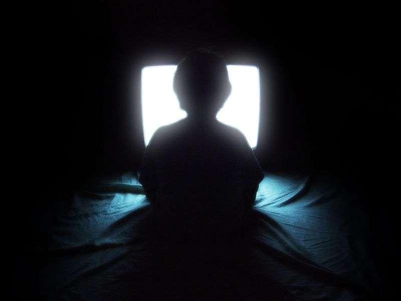 Les enfants regardant des programmes télévisés entrecoupés par de la publicité sont plus enclins que les autres à consommer des produits qui font grossir. © Aaron Escobar, Wikimédia Commons, cc by 2.0