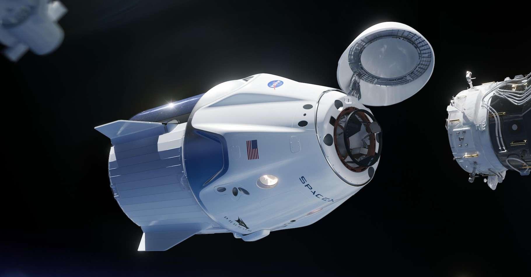 SpaceX, la Nasa et Tom Cruise envisagent de tourner un film dans l'espace. © Nasa, SpaceX, Wikipedia, Domaine public
