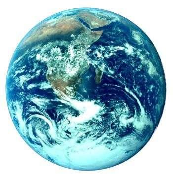 La Terre, vue depuis Apollo 17