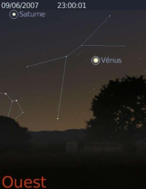 Elongation maximale de Vénus