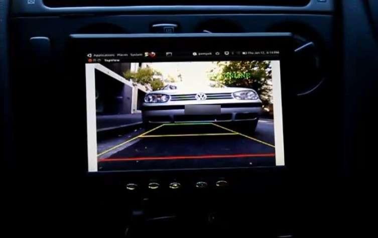 L'utilisation du système Kinect pour l'aide au stationnement pourrait ouvrir un marché important. © Gibson HU