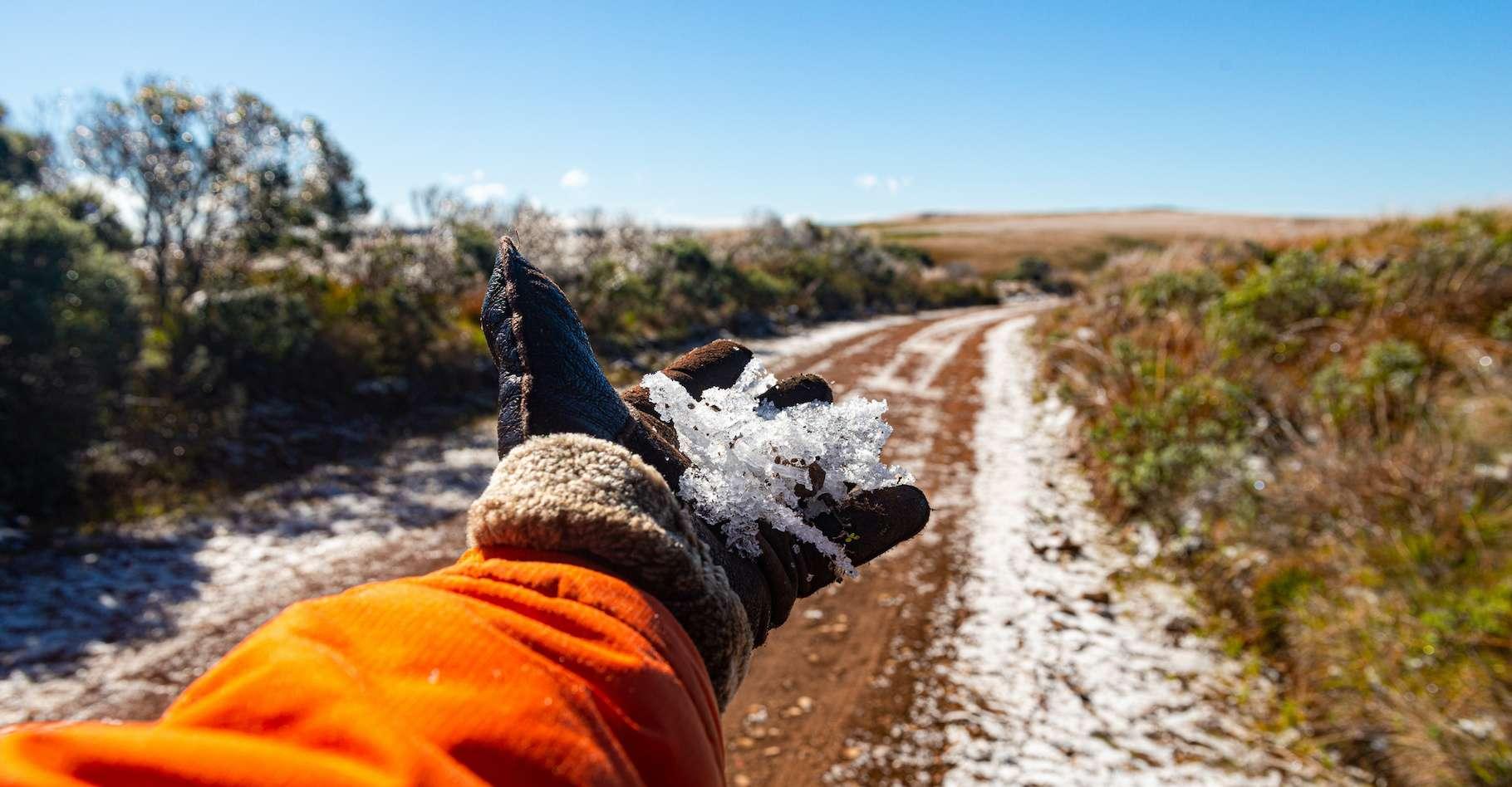 Au Brésil, plusieurs villes de l'État de Rio Grande do Sul ont signalé des chutes de neiges ces derniers jours. © Markito, Adobe Stock