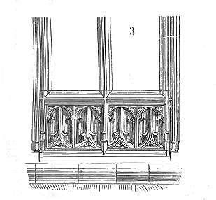 L'allège est un petit mur situé entre le sol et la fenêtre. © domaine public, Wikimedia Commons