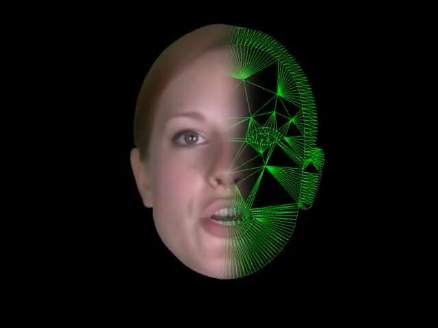 Sur l'avatar, il serait possible d'appliquer l'image de n'importe quel visage et de lui ajouter une voix, ce qui permettrait de le personnaliser. © Université de Cambridge, Toshiba Research Europe