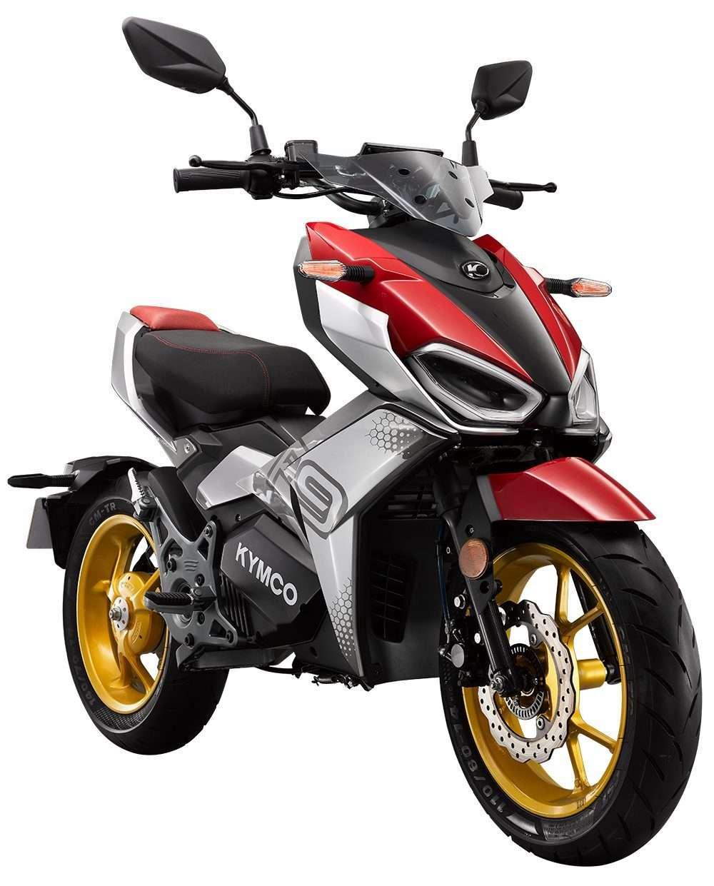 Le Kymco F9 mise sur un design agressif largement inspiré de la moto. © Kymco