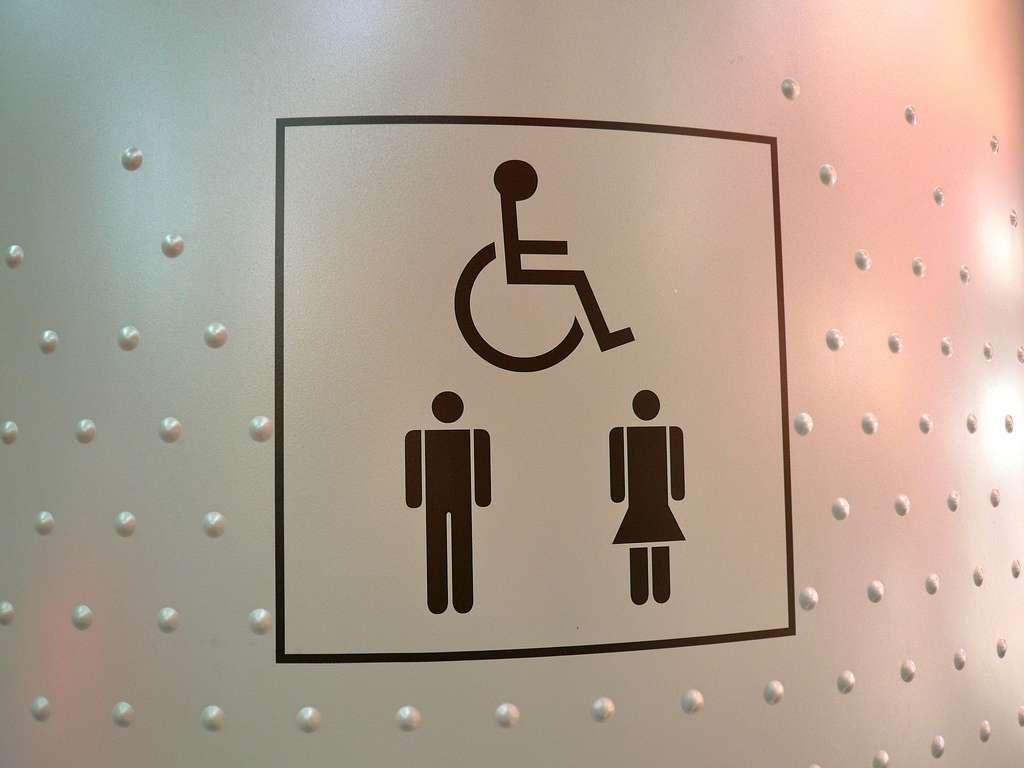 Les sanisettes de seconde génération ont été étudiées pour en faciliter l'accès aux personnes handicapées. © Jason Whittaker, CC BY-NC-SA 2.0, Flickr
