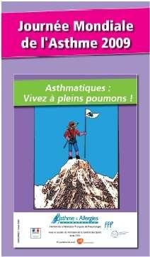 Une journée pour rappeler les moyens d'atténuer les effets de l'asthme. © Association Asthme et allergies