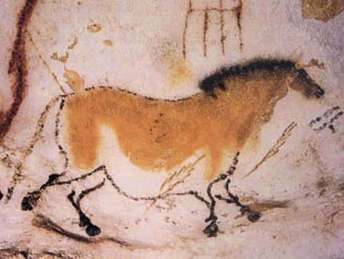 Un cheval dans la Grotte de Lascaux. Crédit Ministère de la Culture