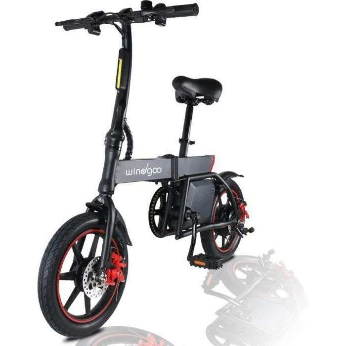 Bon plan : le vélo électrique pliant Windgoo B20 © Cdiscount