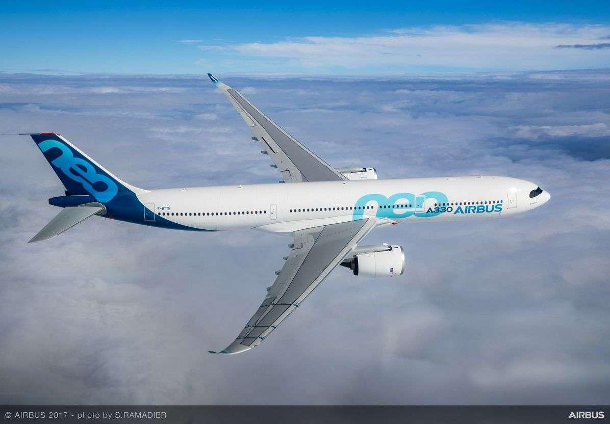 Le premier décollage de l'Airbus A330neo