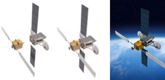 ViviSat ambitionne de développer un module qui viendrait s'amarrer sur un satellite de façon à accroitre sa durée de vie de plusieurs années. Ce module sera utilisé comme système de propulsion additionnel et permettra toutes les manœuvres orbitales nécessaires au bon positionnement du satellite. © ViviSat
