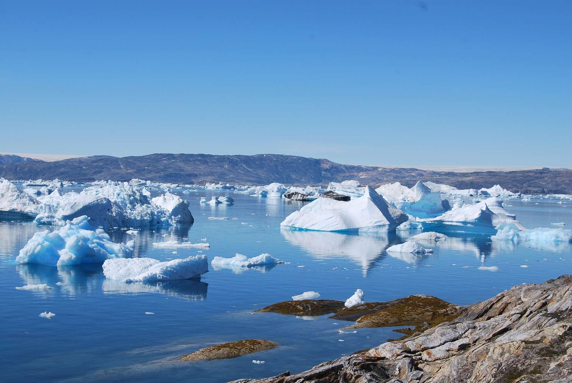 Une nouvelle analyse n'exclut pas que les glaces du Groenland fondent entièrement dans le prochain millénaire sous l'effet du réchauffement climatique. © Pixabay