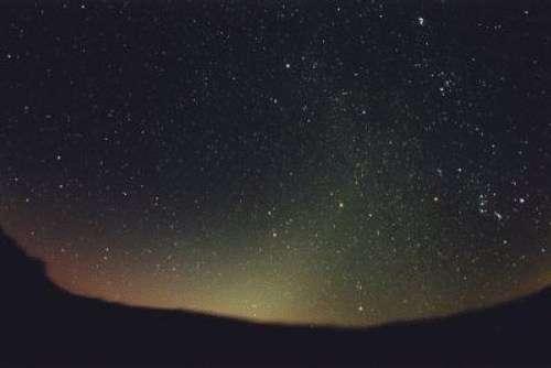 Observez la lumière zodiacale