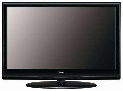 Un téléviseur à l'apparence normale. Mais il manque les fils... © Haier