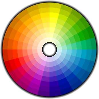 Roue chromatique des couleurs. © 3d_kot
