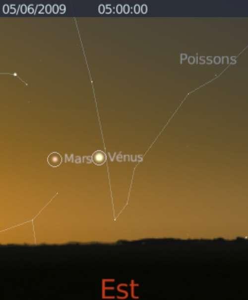 Elongation maximale de Vénus à l'ouest du Soleil