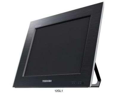 Le Toshiba 3D Regza GL1 20 (pour 20 pouces) affiche une image en relief visible à environ 90 centimètres. © Toshiba