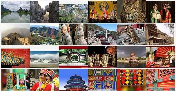 Voyage en Chine via un puzzle. Il suffit de cliquer...