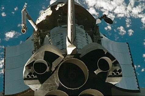 Mais d'où vient cette odeur ? Crédit Nasa (STS-124)