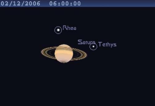 Les anneaux de Saturne atteignent leur plus petite ouverture de l'année