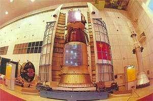 Shenzhou 5 en cours d'intégration.