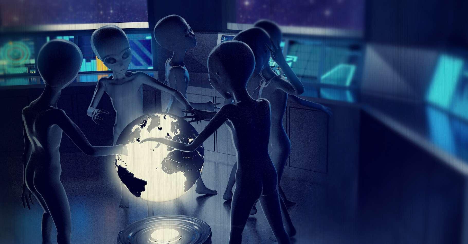 Le projet Seti@home a été lancé en 1999 par l'université de Californie à Berkeley (États-Unis). L'idée : utiliser la puissance d'ordinateurs personnels pour chercher des signes de vie extraterrestre. © aleciccotelli, Adobe Stock