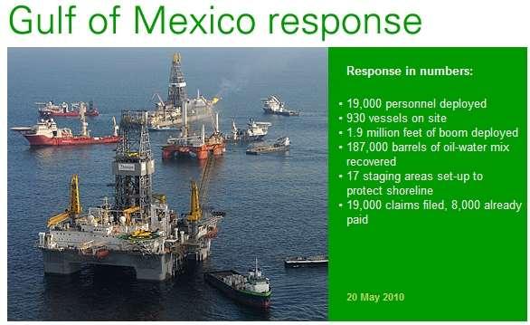 Sur le site de BP, des informations en continu sur la marée noire, qui prend de l'ampleur...
