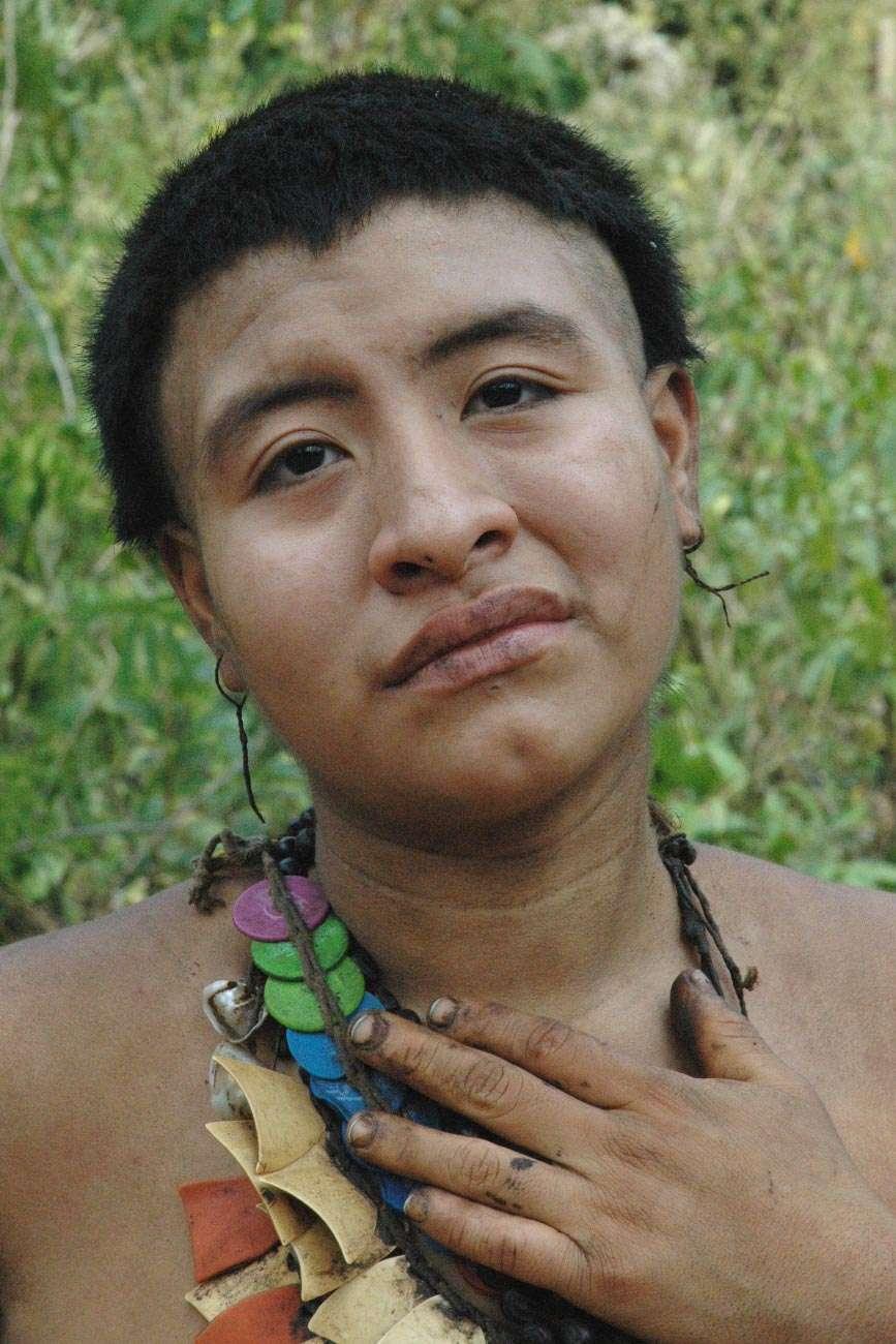 La plus jeune des trois femmes Akuntsu encore en vie. © Fiona Watson/Survival International