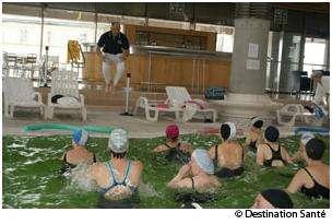 L'aquagym n'est pas une activité réservée aux séniors. © Destination Santé
