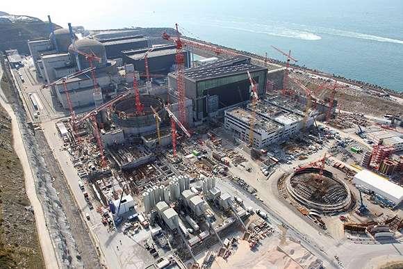 Des « failles » et des « écarts » dans la construction de l'EPR de Flamanville ont été détectés par l'Autorité de sûreté nucléaire. © EDF