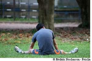Les crampes peuvent être dues à une déshydratation. © Fotolia