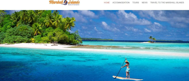 Les îles Marshall, en Micronésie, dans l'océan Pacifique, sont souvent présentées comme un paradis sur Terre. Pour combien de temps encore ? À 2 m de moyenne au-dessus du niveau de la mer, cet archipel subit déjà les effets du réchauffement climatique et les autorités multiplient les appels à l'aide. © Office du tourisme des îles Marshall