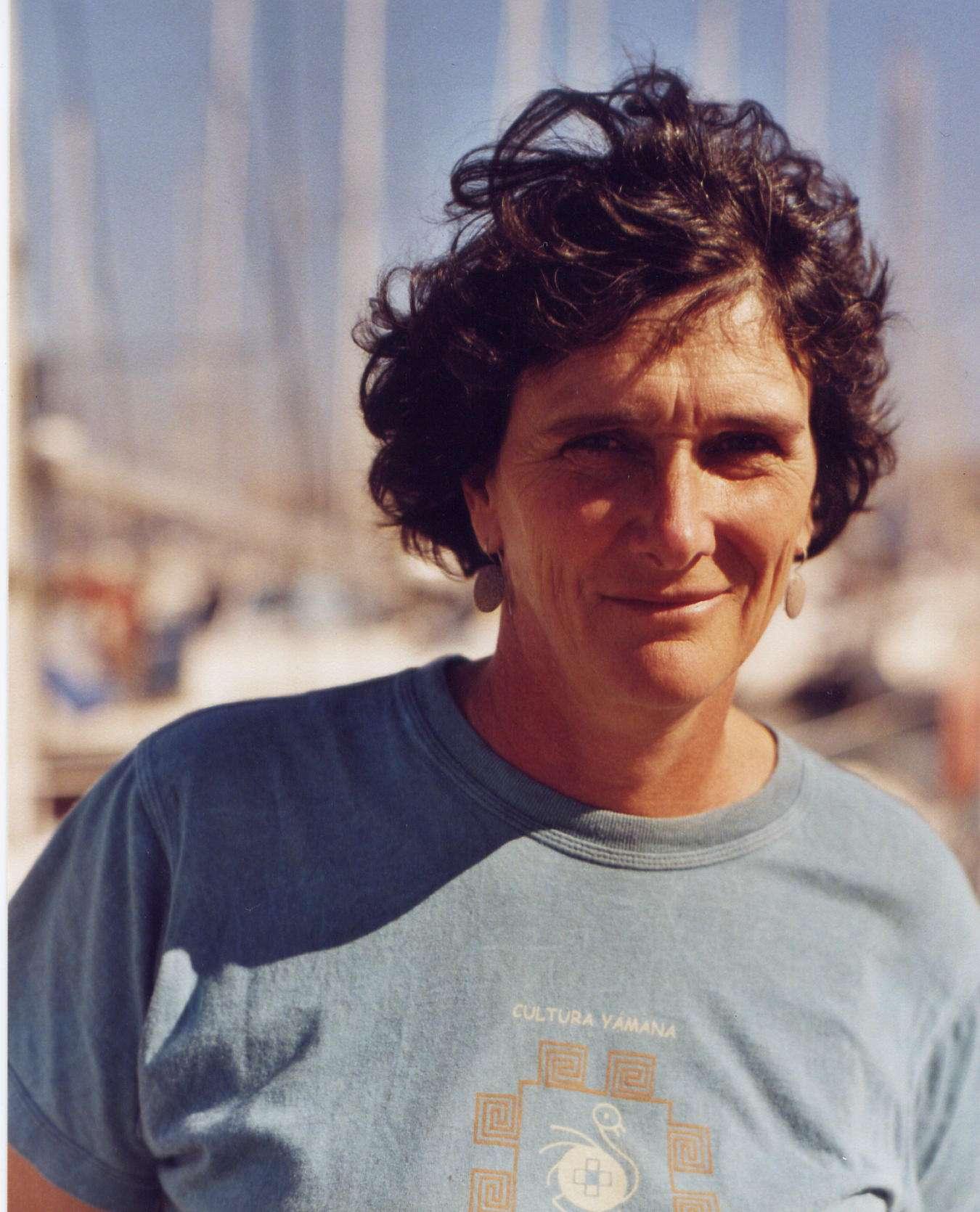 Isabelle Autissier, toujours prête pour l'aventure, surtout lorsqu'il s'agit de défendre de bonnes causes. © Ducourtiou / WWF