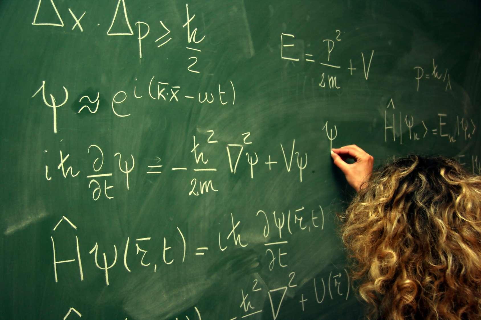 Des équations quantiques. © CT, Fotolia