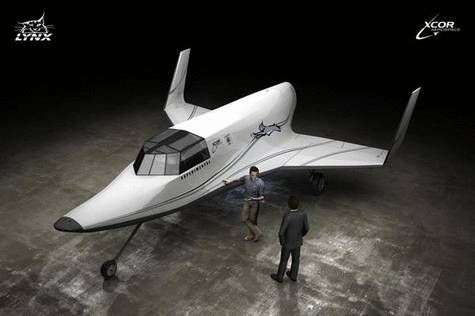 Le Lynx de XCor Aerospace. Crédit XCor